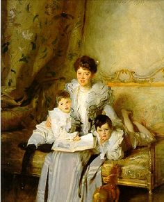 John Singer Sargent - Mrs. Knowles and Her Children 1902