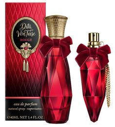 accords of orange, bergamot, pink pepper, smoked Lapsang Souchong tea, magnolia, woody tones and raw amber, among others. The design of the bottle reminiscent of a luxury jewelry in ruby color and of perfume bottles from the 20s and the 30s.