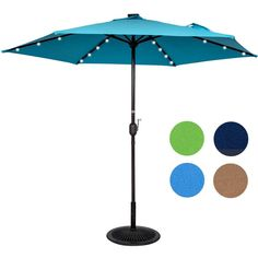 How To Use Umbrella Lights Amusing Umbrella Pole Light For Patio Umbrellas Camping Tents Or Outdoor