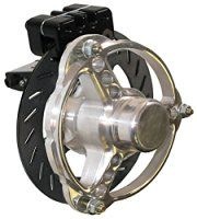 "NEW MCP FRONT GO KART BRAKE KIT WITH HUBS, 6"" ROTORS"
