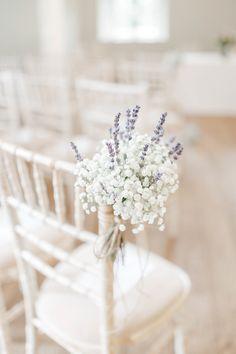 Ideas wedding flowers gypsophila pew ends - Coiffures De Mariage Blush Pink Weddings, Romantic Weddings, Purple Wedding, Floral Wedding, Lavender Weddings, Tropical Weddings, Wedding Blush, Wedding Makeup, June Wedding Flowers