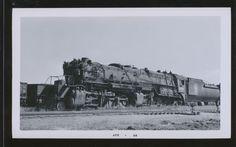 2-8-8-2 locomotive | Great Northern GN 2-8-8-2 Steam Locomotive #2056 - B&W ...