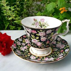 "Vintage teacup by Royal Albert, Merrie England series "" Alton"""