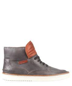 Men's Brody granite leather hi-tops Sale - O'Neill Sale