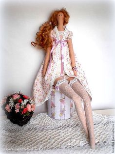 Куклы Тильды ручной работы. Нежная принцесса Изабелла. Екатерина Шевченко…