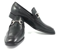 Black Monk Shoes With Silver Buckle, Made With Grade A Leather, Only At J.L. Rocha #shoes #men #professional #style #work #fashion #black #leather
