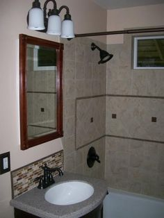 Beau Handyman Connection Bathroom Remodel In Spokane. Find This Pin And More On Mobile  Home Ideas ...
