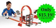 Hot Wheels Track Builder Construction Crash Kit Only $15.19!