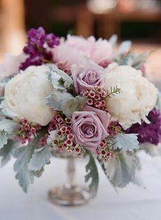 19 ideas garden wedding decorations centerpieces floral arrangements for 2019 Floral Wedding, Wedding Colors, Wedding Flowers, Purple Wedding, Wedding Ideas, Wedding Hacks, Rose Wedding, Trendy Wedding, Summer Wedding