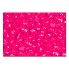 Pink Leopard Print Table Card
