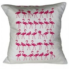 Flamingo cushion - From Britain with Love