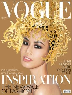 The first issue of Vogue Thailand, edited by the first ever male Vogue EIC