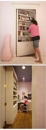 Hidden children's room!