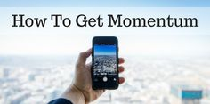 Have you ever wondered how to get momentum in your business? It s easier than you think but you should be doing a couple of things. How To Get Momentum In Your Business Many times I have been asked how to create momentum in network marketing. You need to become more visible. If people can t see [ ] The post How To Get Momentum In Your Business appeared first on Mark Nelson Online.