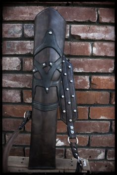 Custom  Studded Leather Ranger Archery Quiver by HouseofVoodoo, $110.00