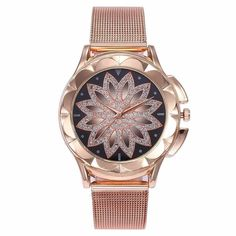 😍up to 70% OFF + 🛫FREE Shipping For limited time for this Infinity Flower Watch #Jewelryaddict #jewels #Fashionable #Boho #Style #Hot Rose Gold, Gold Watch, Watch 24, Buy Watch, Gold Flowers, Flower Fashion, Quartz Watch, Fashion Watches, Watch Bands