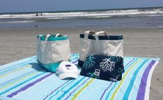 A day on the beach with your sand free Bohicket Road Beach Tote is a happy place indeed. Day, Beach, Free, Collection, Products, The Beach, Beaches, Gadget