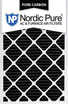 20x30x1 Pure Carbon Pleated AC Furnace Filters