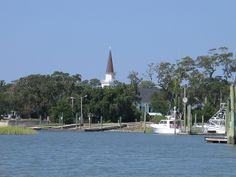 Belin (pronpunced Blain) steeple and marsh