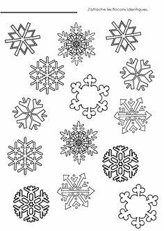 Coloriage flocon de neige recherche google toiles pinterest google - Flocon dessin ...