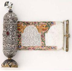 Ancient hebrew scroll: Meguilat Ruth