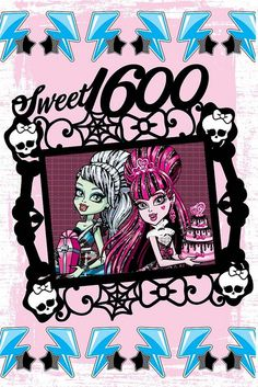 monster high sweet 1600 frame   ... 1600 pics from the new monster high app monster high sweet 1600