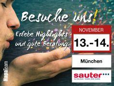 Besuche uns am 13 und 14.11 auf der Foto-Video Sauter Hausmesse in #münchen http://www.foto-video-sauter.de/seite/Hausmesse-Herbst-2015  #hapateam