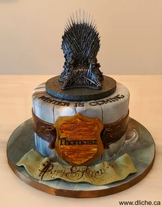 Gâteau Game of Thrones!!  Game of Thrones cake!!