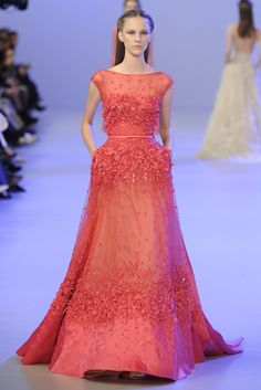 Elie Saab Couture Spring 2014 - Slideshow - Runway, Fashion Week, Fashion Shows, Reviews and Fashion Images - WWD.com