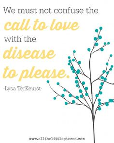 A challenging quote from Lysa TerKeurst in #thebestyes. Click for the free printable download!