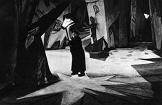 The chiaroscuro, low-key lighting, in combination with the set design, settles easily with Styans first quality of expressionist theatre. The set is crafted in an abstract stylised fashion, as well as shadows Franz Marc, Best Horror Movies, Horror Films, Kandinsky, German Expressionism Film, Best Black, Black And White, Dr Caligari, The Babadook