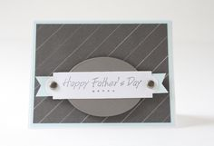 A personal favorite from my Etsy shop https://www.etsy.com/listing/233406436/fathers-day-handmade-card-stamped-card