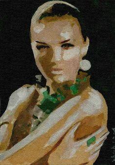 watercolor painting by shahrzad Ranji