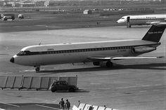 British European Airways BAC-111-510 G-AVMH (1969-11 Paris LBG Cn 136), via Flickr. British European Airways, British Airline, Civil Aviation, Aeroplanes, Paris, Spacecraft, Civilization, Aircraft, Commercial