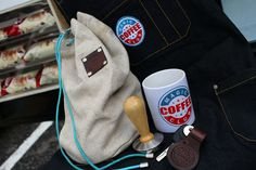 Сумка, форма бариста, темпер, кружка и автомобильный брелок  подарок от Magic Coffe Club mobcoffee.wix.com/boho-cafe Мобильная кофейня