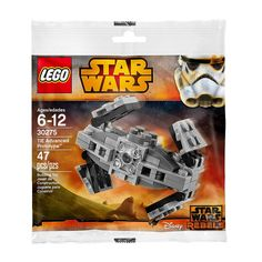 LEGO Star Wars 30275 Tie Advanced Prototype Rebels Set! New/Sealed 47pcs Ages 6+ #LEGO