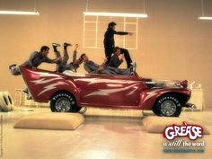 GREASE, MY FAVORITE, YOU HAVE TO SING AND DANCE TO ALL THE SONGS