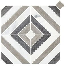 Shop for Montauk Dark Grey Stone Mosaic Wall and Floor Tile - 13 x 13 in. at The Tile Shop. Grey Stone Mosaic, Grey Stone, Tile Backsplash, Stone Mosaic, Mosaic, Patio Flooring, Wall And Floor Tiles, Patio Tiles, Mosaic Wall