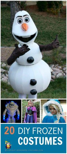 Coolest Disney Frozen Homemade Costumes