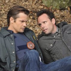 Timothy Olyphant and Walton Goggins in Justified on FX
