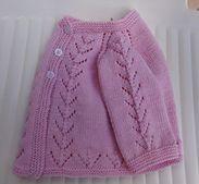 Ravelry: Pink Cardi pattern by Filomena Lanzara