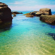 South West Rocks, Australia — by The Adventure is Calling. Crystal clear waters at South West Rocks, Australia - #beach magic!