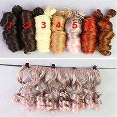 Set Of 7 Color 15*100cm BJD/SD Doll DIY Wig Lovely Long C... https://www.amazon.com/dp/B019RDCMOW/ref=cm_sw_r_pi_dp_x_1R3PybW7Q0YGW