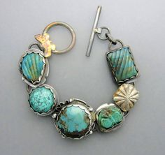 Turquoise and Opals by Temi on Etsy