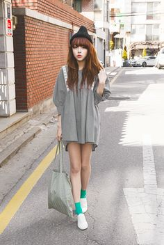 ulzzang pretty korean girl selca asian fashion ♥