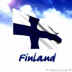 Flag of Finland gif