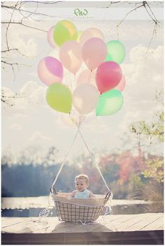 Absolutely love this idea for baby pics ! #EasterPictures