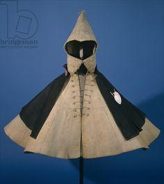 The pilgrims cloak of Stephan Praun, c.1571 (felt & leather). Credit: The pilgrim's cloak of Stephan Praun, c.1571 (felt & leather), German School, (16th century) / Germanisches Nationalmuseum, Nuremberg, Germany / The Bridgeman Art Library