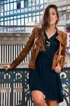 BUY CRUNCHY BROWN LEATHER JACKET FOR WOMEN'S
