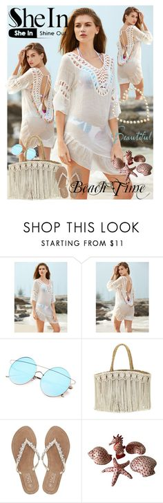 """Beach Time"" by sanela1209 ❤ liked on Polyvore featuring Flora Bella and M&Co"